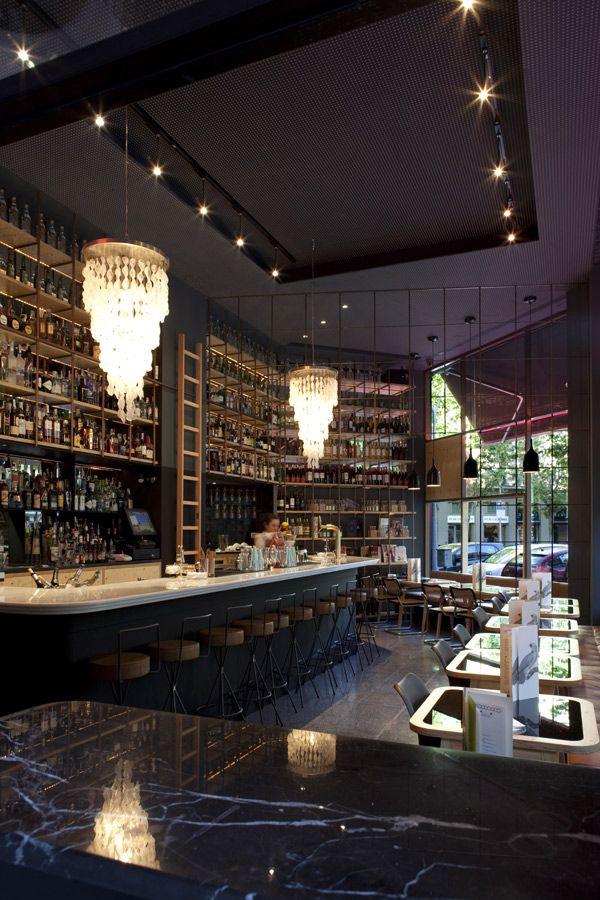 Restaurante Coctelería Fígaro, en calle Muntaner 212  - Barcelona, Spain