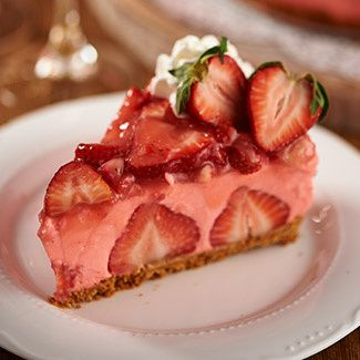QVC's Cooking in the Kitchen with David : Strawberry Dream Cheesecake