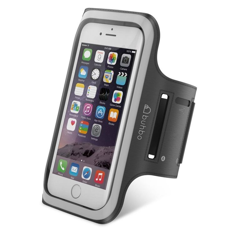 iPhone 6 / 6S Armband (4.7 inch) : BUHBO Active Sports Armband (Running Walking Gym Bike Cycling Skate) Black. Designed for the Apple iPhone 6 and iPhone 6S (4.7 inch) models. But many previous generations will also fit, including the iPhone 4, iPhone 4s, iPhone 5, iPhone 5c, iPhone 5s, and iPods. The slim profile conforms to your arm and doesn't restrict your motions. Made from Premium Neoprene that is both durable and lightweight. The water resistant material will keep your device clean...