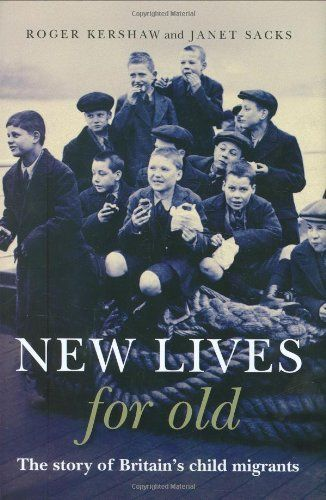 #ClosetSkellies #BHC  New Lives for Old: The Story of Britain's Home Children by Janet Sacks