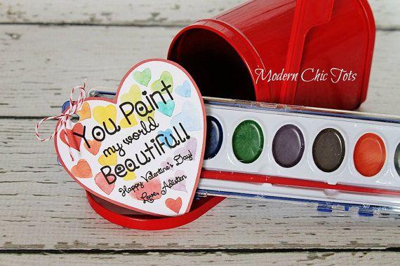 Valentine's Day Paint Printable