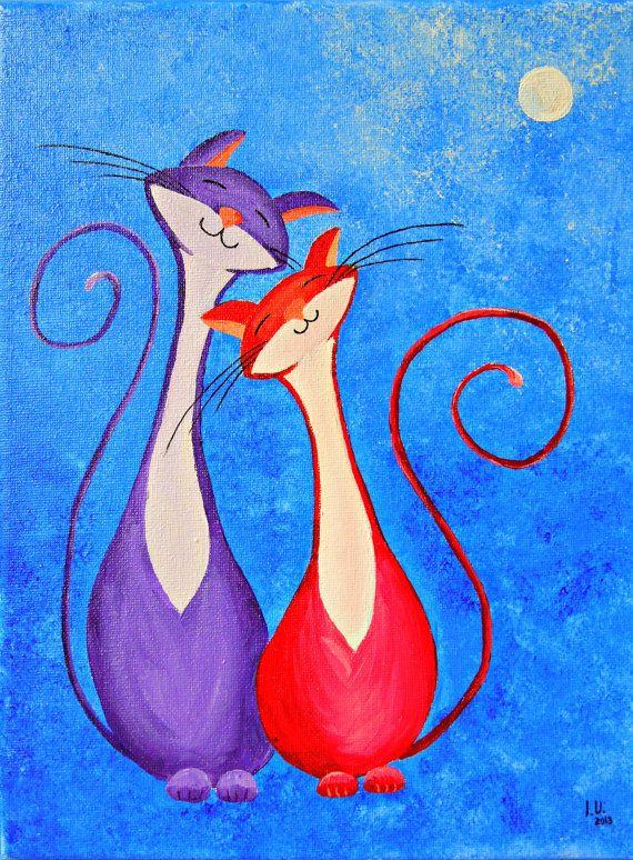 enamorados ?  ,  el  Gato y la Gata ......  los  conozco  ,  si  ....  Oky`````