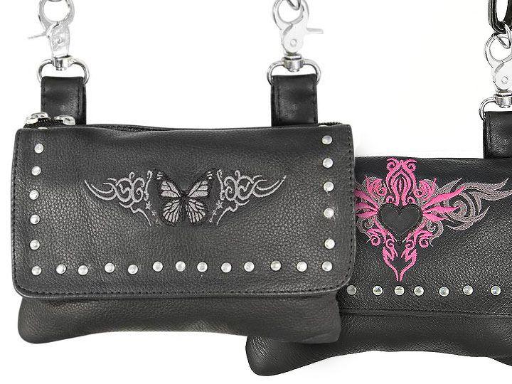 New Xelement Lady-Biker Belt Bags - Loved by Biker Women | Motorcycle Blog of Leatherup.com