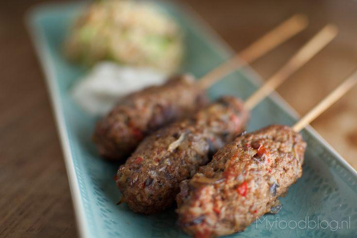 Authentieke Turkse Köfte bereid in de rookoven - My Food Blog