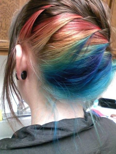 13 best images about Rainbow Hair on Pinterest | The ...
