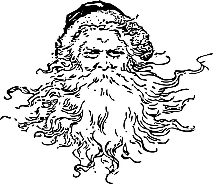 Two Santa Claus Or Christmas Digital Stamps Vintage Father Stamp Find This Pin And More On Shopkins Coloring Pages