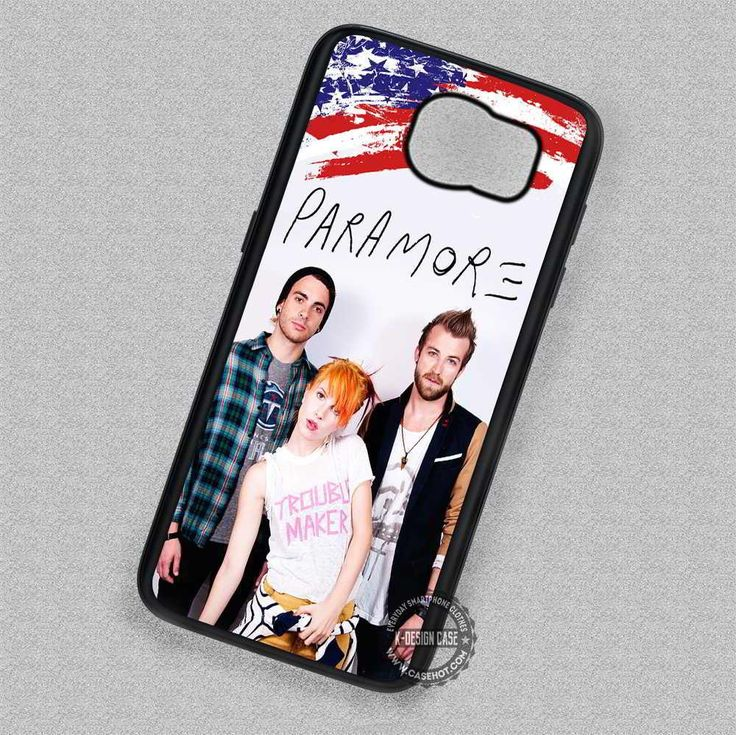 Indie Band Paramore- Samsung Galaxy S7 S6 S5 Note 7 Cases & Covers