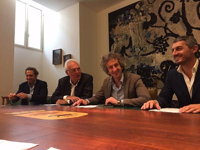 A Lecce limprenditore-filososo Brunello Cucinelli