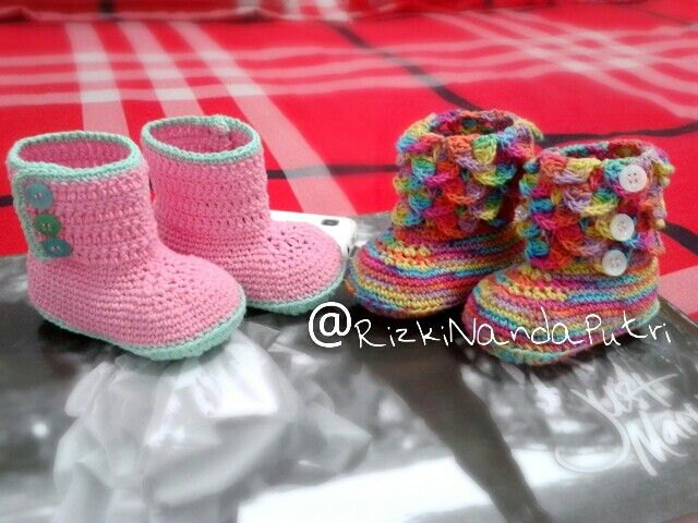 baby shoes #crochet