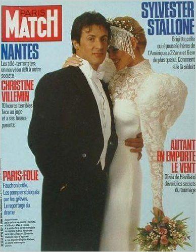 Brigitte Nielsen et Sylvester Stallone