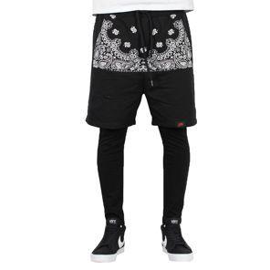 Sixth June - Short + Cycliste Pant Noir/Creme/Flower