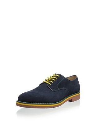 50% OFF Joseph Abboud Men's Jay Multi-Colored Suede Oxford (Navy Suede)