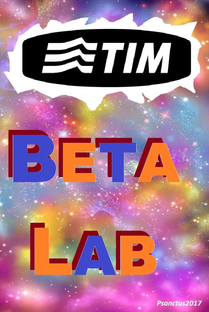 * Beta Lab * TIM * 2017 *