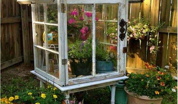 33 skvelých tipov ako využiť staré okná