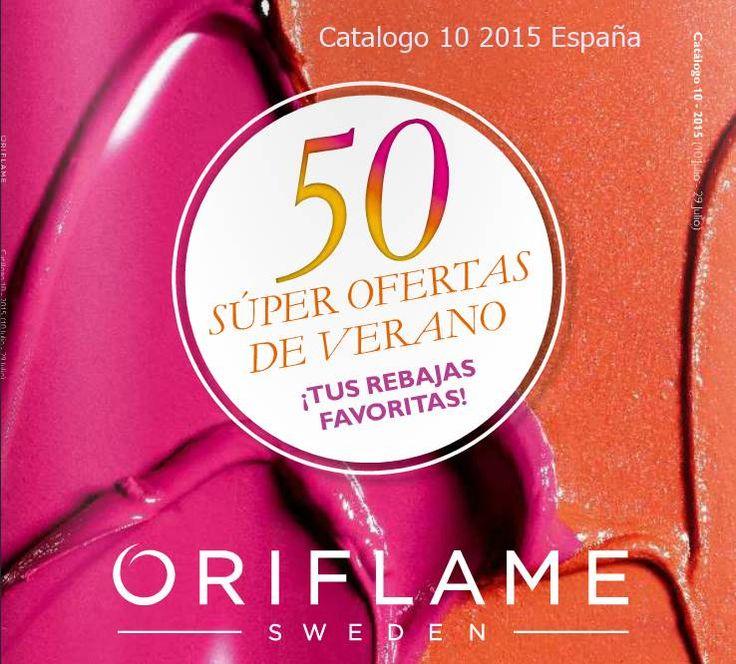 Catalogo de Oriflame Campaña 10 2015 España