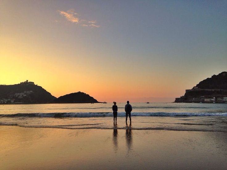 Last Sunset of September #Donostia