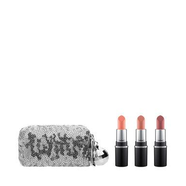 MAC Snow Ball Mini Lipstick Kit, cool