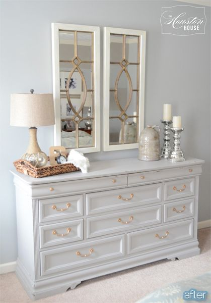 better after dresser caresser i love those mirrors interiors pinterest my sister furniture and i love - Dresser Decor