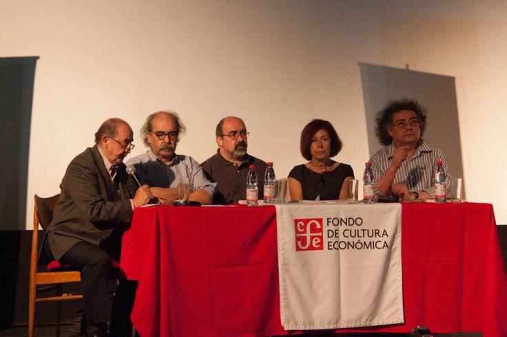 """Lanzamiento del libro """"El Ojo Mecánico. Cine político y comunidad en América Latina"""" de Carlos Ossa, marzo 2014."""