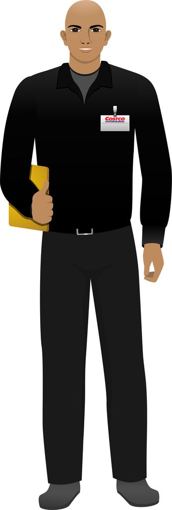 Customized illustration African American avatar for eLearning with Captivate, Camtasia and Storyline.