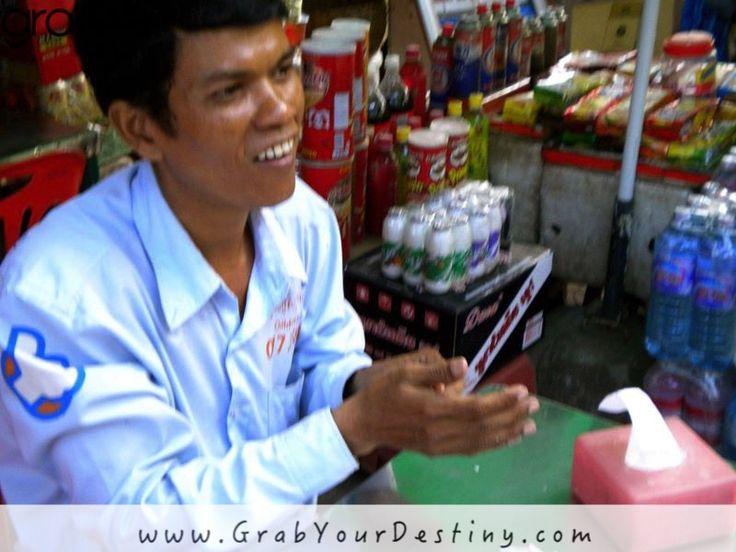 Jason And The Egg, Balut... Siem Reap, Cambodia  #Travel #SiemReap #Travel #JasonAndMichelleRanaldi #Balut #EatingTheEgg #GrabYourDestiny #Cambodia  www.GrabYourDestiny.com