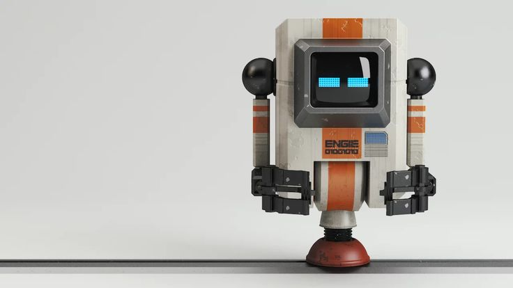 Free time project | ENGIE - The Minibot. Playing around with Arnold Renderer and new production pipeline. Model: Vu Hoang Minh Animation: Nguyen Hoang Anh | Nguyen…