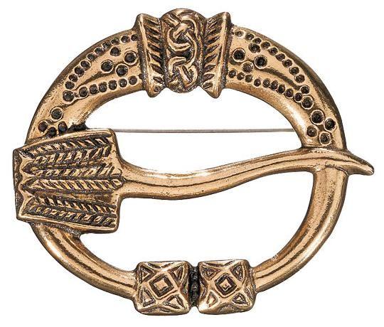 Kalevala Koru / Kalevala Jewelry / VIRUSMÄKI BROOCH, material: bronze or silver