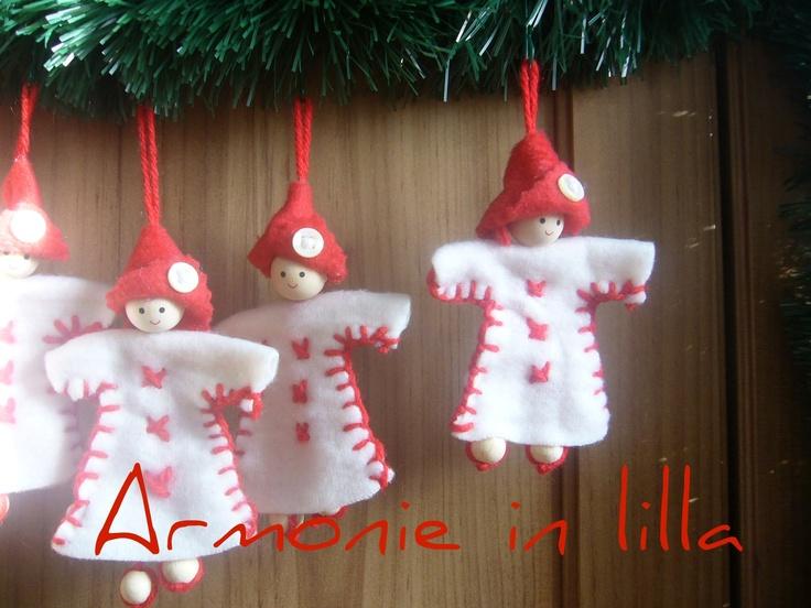 Folletti di Babbo Natale Santa's Elves