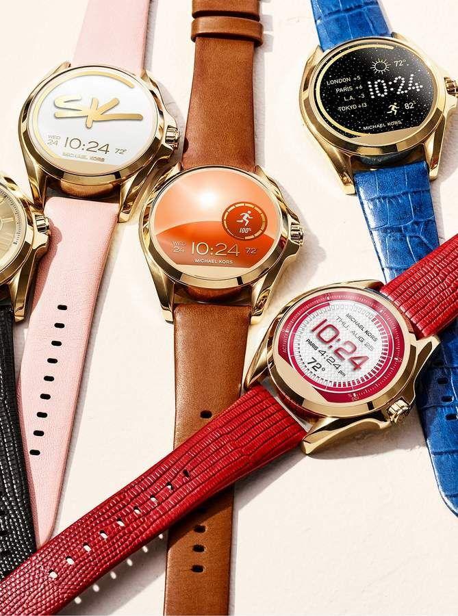 91dd24a8435 Michael Kors Bradshaw Gold-Tone Smartwatch