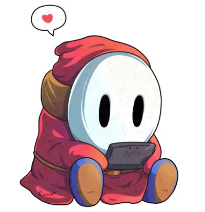 Shy Guy's DS by Cavea.deviantart.com on @deviantART