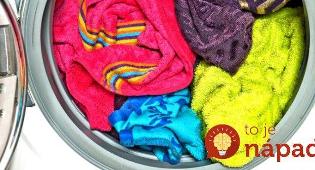 Jednoduchý trik, ako si poradiť so zapáchajúcimi uterákmi