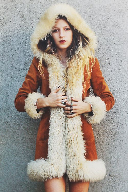 penny lane coat! 70's vintage rock style.