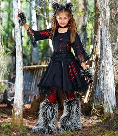 werewolf girl costume - Chasing Fireflies. Love this for this Halloween.