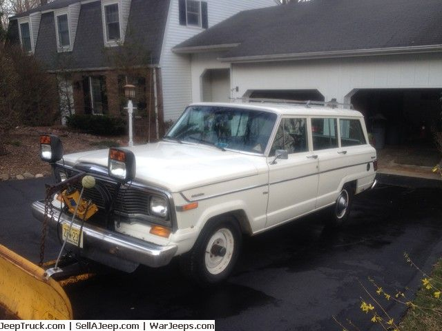 Jeep Truck >> Nice 1982 Jeep Wagoneer (all original) LOW MILES!! for sale at JeepTruck.com | Jeep Trucks For ...