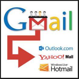 Gmail bulk message forwarding