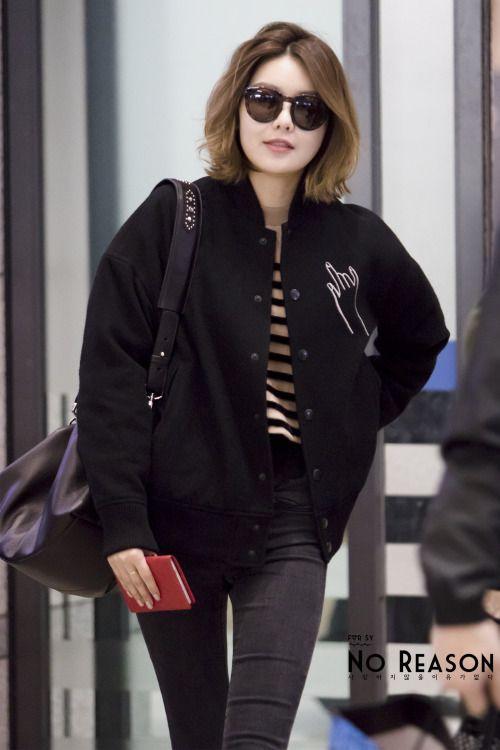 Sooyoung at Airport