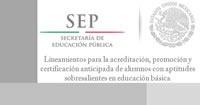 Documentos básicos de Aptitudes sobresalientes México