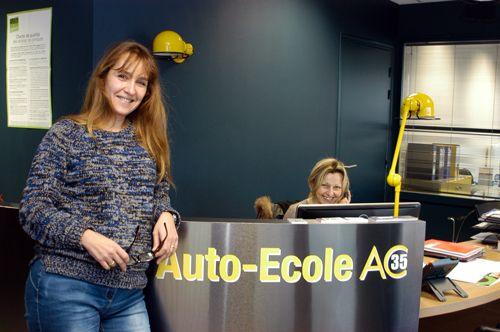 AUTOMOBILE CLUB 35 AUTO ECOLE LA RICHARDAIS DINARD apprentissage au code de la route et de la conduite.PERMIS B Auto,AAC Conduite accompagnée, COURS DE CODE
