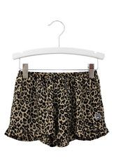 Summer Shorts Frill Trim in Leopard Print - Available in Assorted Colours | Sweet Child of Mine