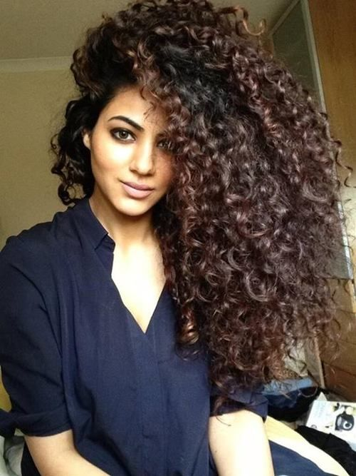 Cant wait til it gets this long- well my hair doesnt get longer it gets bigger!