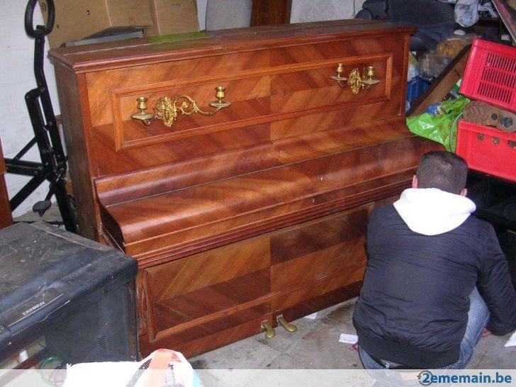 Piano droit champ rameau cadre metal - A vendre