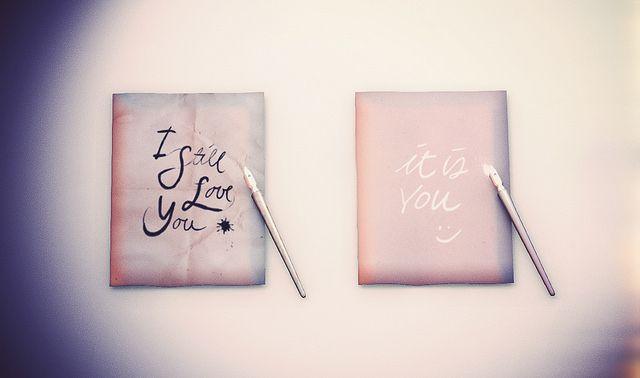 [ keke ] valentine calligraphy | Flickr - Photo Sharing!