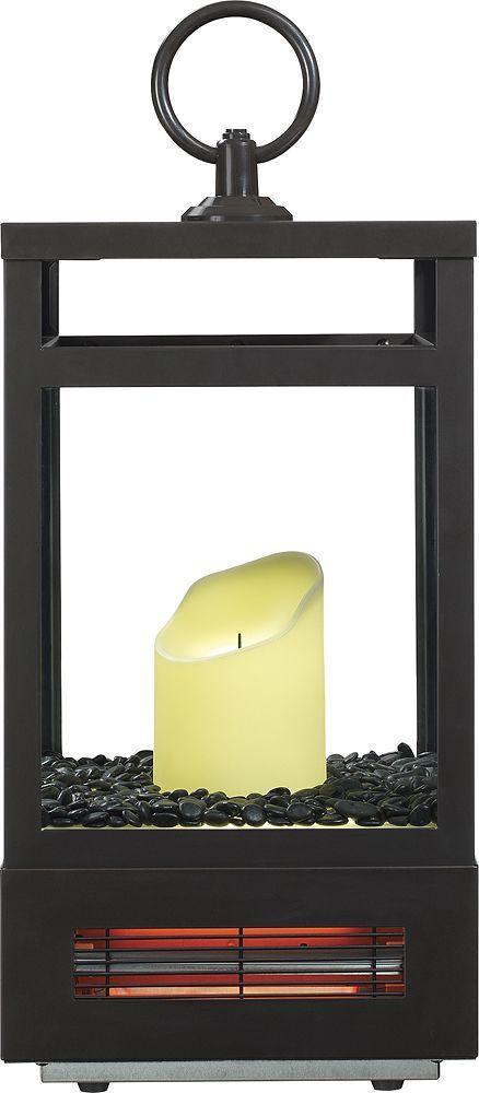 Duraflame - Lantern Infrared Heater - Bronze, 8ILH120-01