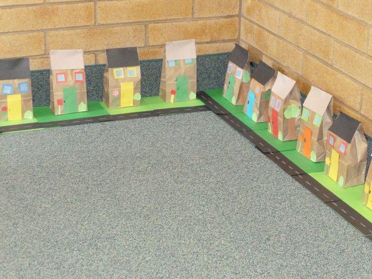 neighborhood project where students build their own houses and create a neighborhood