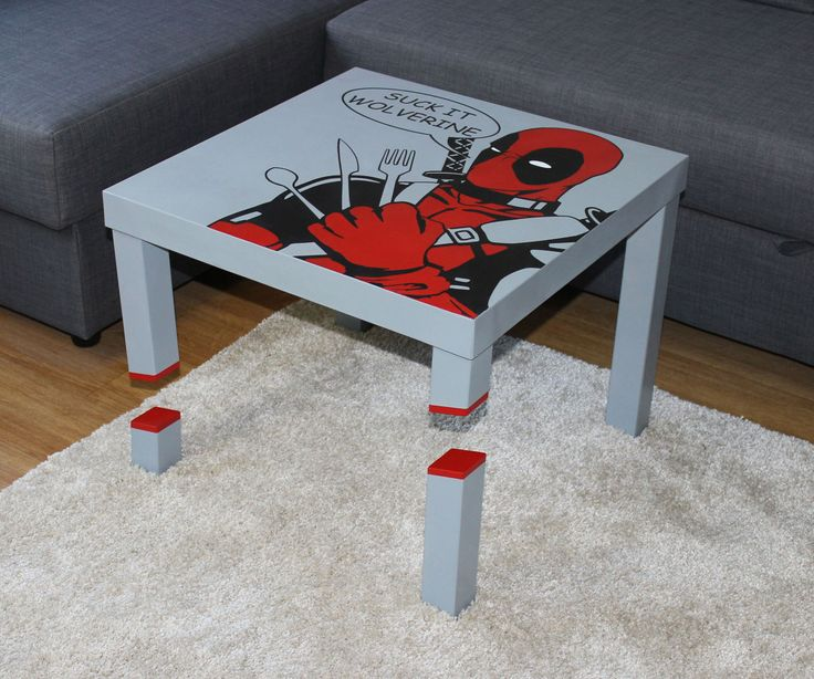 Sliced Deadpool Lack Table 2 0 To Be Simple And Ikea