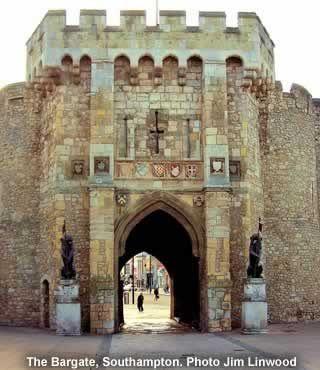 The medieval Bargate in Southampton, UK http://www.banyanld.com/cva/how_it_works.html