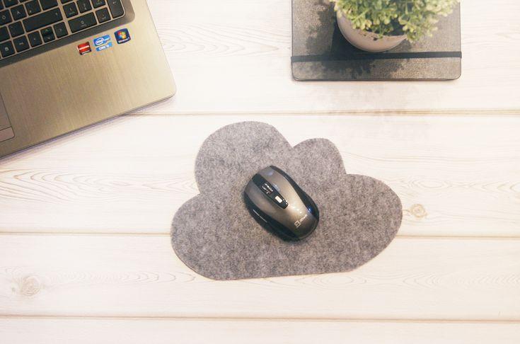 Wolkenliebe // DIY Mousepad aus Filz ♥