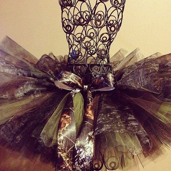 This is an example of tactile texture because you can feel the fabric in the tutu. Mossy Oak Camo Tutu. $25.00, via Etsy.
