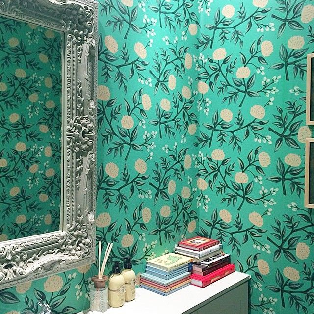 The 25 Best Mint Wallpaper Ideas On Pinterest: 25+ Best Ideas About Powder Rooms On Pinterest