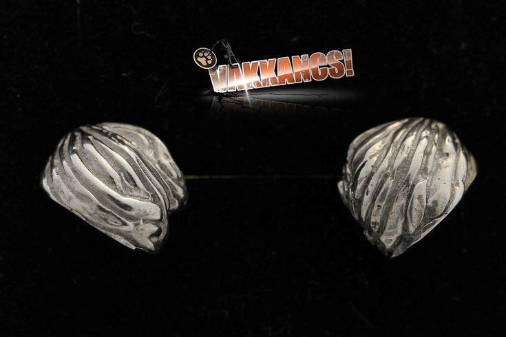 Puli (dog breed) sterling silver earrings.